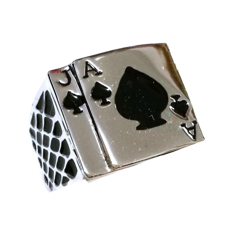 Anel Aco Cirurgico Poker