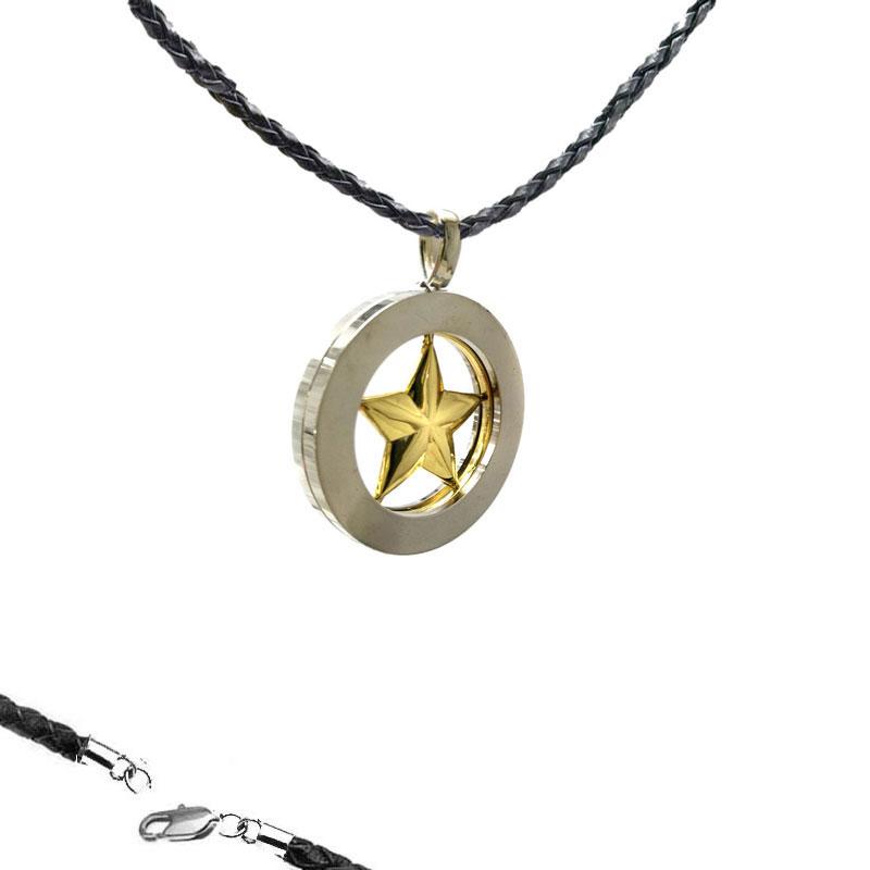 Pingente Estrela Inox Thibault