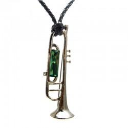 Colar Trompete Swarovski Erinite