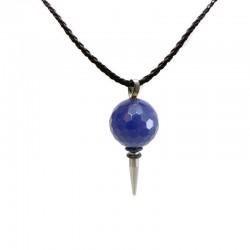 Pingente Lapis Lazuli Facetado Cirurgico
