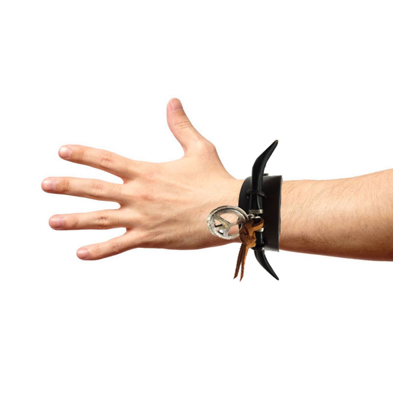Bracelete Chifres Onix
