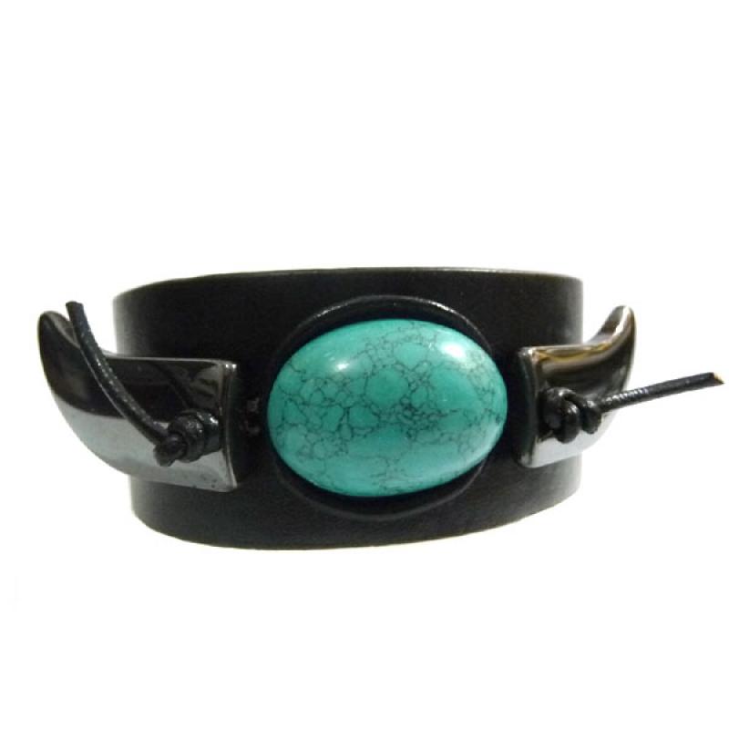 Bracelete Pedra Sabão Hematita