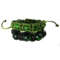 Shamballas Masculinas Murano Verde